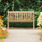 Mahogany Broadfield Bench 4ft