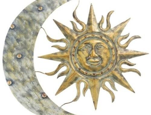 Aztec Sun & Moon