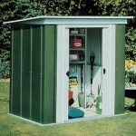 Metal Pent Shed 6x4