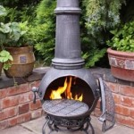 Toledo Chimenea Large Stoney Grey