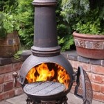 Toledo Chimenea Large Bronze