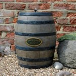 Whisky Barrel Fountain