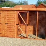 Pent Kennel with run