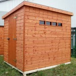 Security Pent Shed