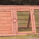 Large Triangular Rabbit Hutch