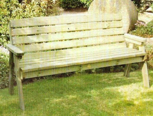 Dean 3 Seater Bench