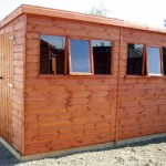 Heavy Duty Apex / Pent Shed 8ft
