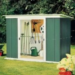 Metal Pent Shed 8x4