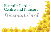 Discount Card for Penrallt Garden Centre