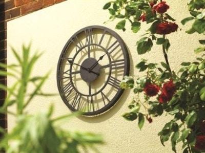 Giant Roman Numeral Clock