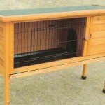 Tall Rabbit Hutch Large
