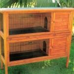 Twin Rabbit Hutch