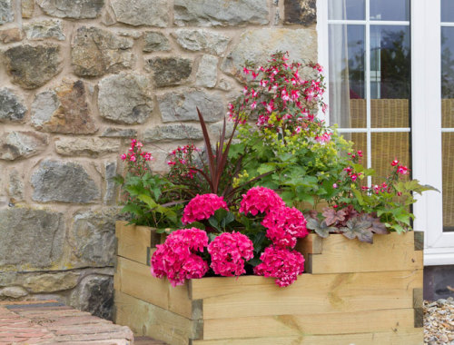 Zest 3 Tiered Raised Bed