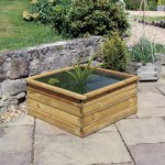 Zest Aquatic Planter 90x90x45cm