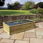 Zest Aquatic Planter 183x90x45cm