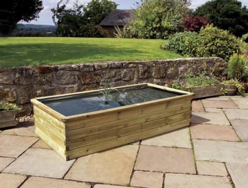 Zest Aquatic Planter 183x90x45cm