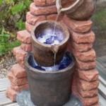 cascading plant pots