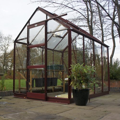 6′3″ Wide High Eave Elite Greenhouse