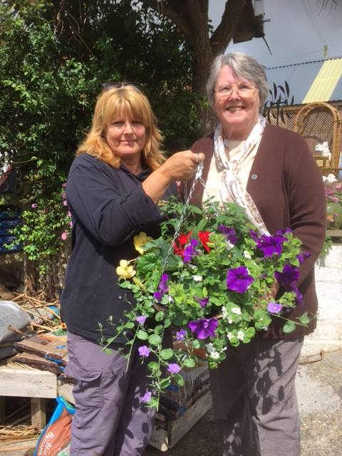 Winner of Summer Hanging Basket Prize Draw