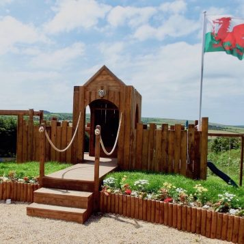 Penrallt Garden Centre, children's adventure play area