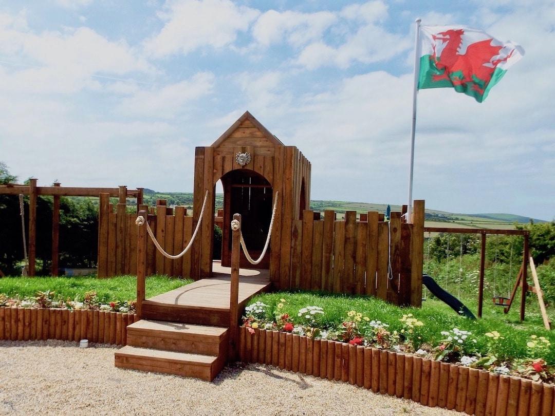 Penrallt Garden Centre, children's adventure play area