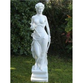Enigma Diana Huntress Marble Statuary 85cm
