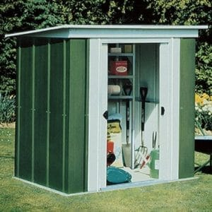 Metal Pent Shed 6×4