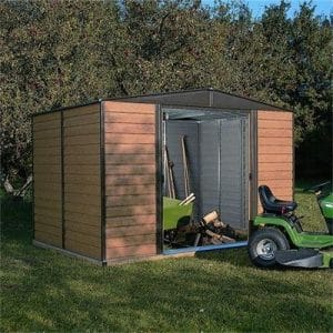 Woodvale Metal Shed 10×8