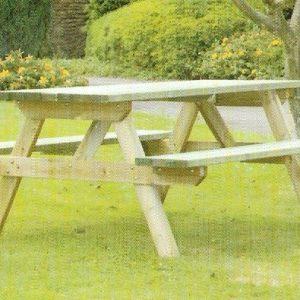 Wye Rectangular Picnic Table