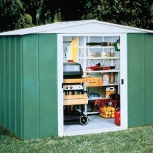 Metal Apex Shed 8×6