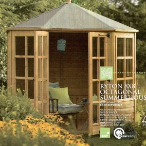 Ryton Summerhouse 8×8