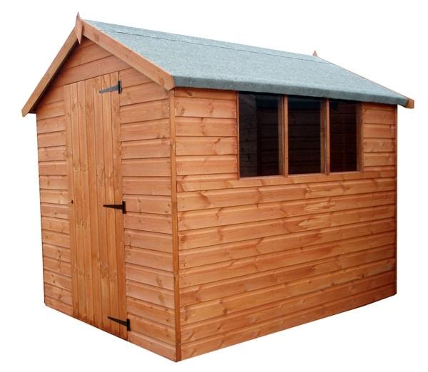 Standard Apex Shed Penrallt Garden Centre