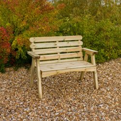 Zest Abbey 2 Seater Bench