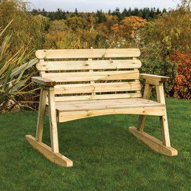 Zest Abbey 2 Seater Rocking Bench