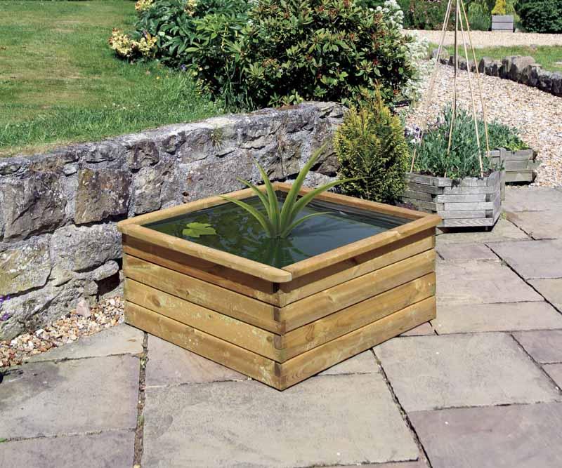 Zest Aquatic Planter 90x90x45cm