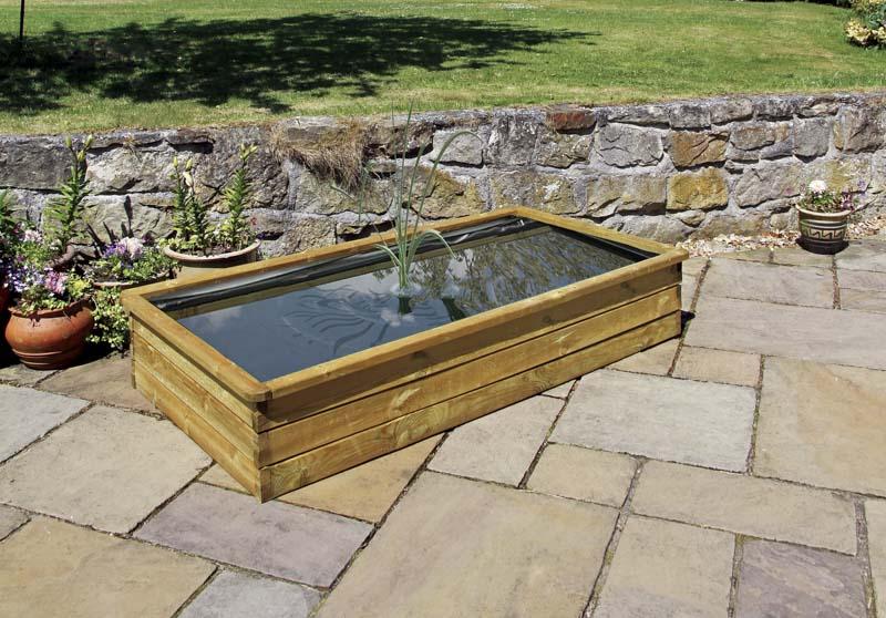 Zest Aquatic Planter 180x90x30cm