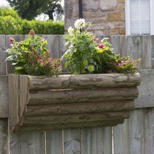 Bristol Rustic Wall Planter