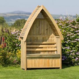 Zest Cheltenham Arbour with storage box