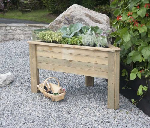 Zest Deep Root Corner Planter