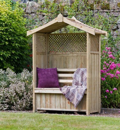Zest Dorset Arbour with storage