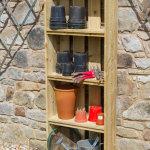 Zest Garden Shelves