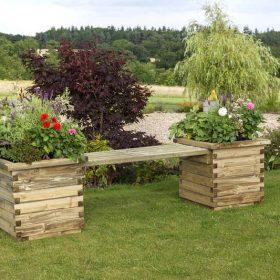 Zest Isabel Planter Bench