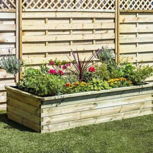 Sleeper Raised Bed 180 X 90 X45