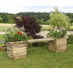 Zest Isabel Planter Bench