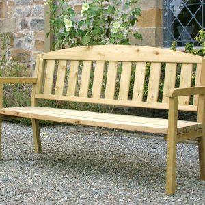 Caroline 3 Seater Bench