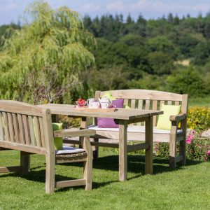 Emily Table & Bench Set