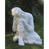 Enigma Sleeping Deity Marble Statuary 60cm