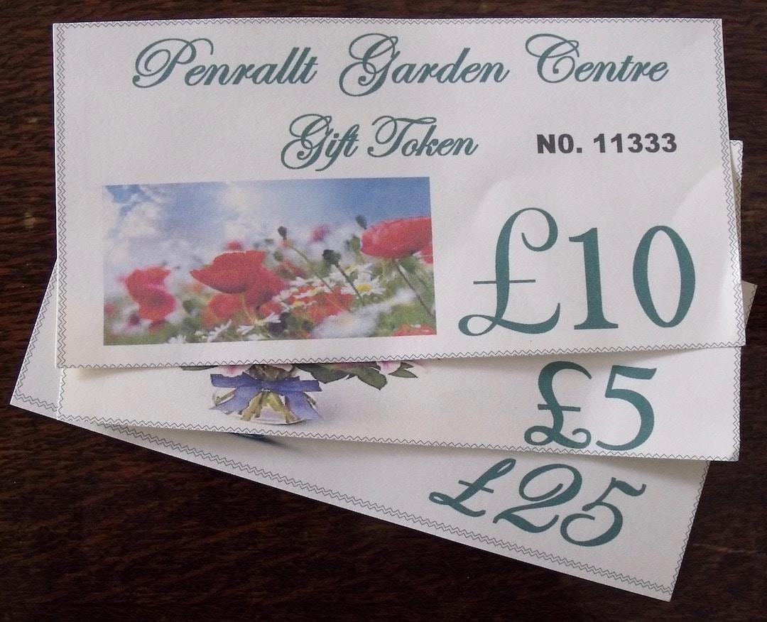 Penrallt Garden Centre Gift Vouchers