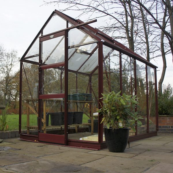 6′3″ Wide High Eave Elite Greenhouse