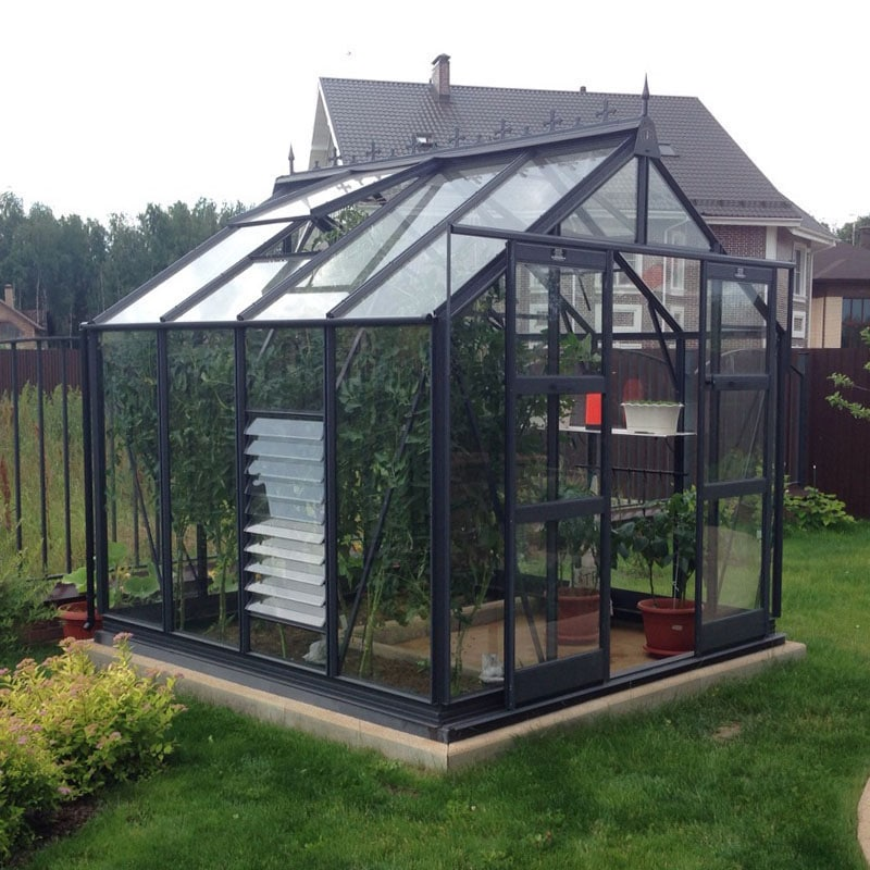 6 3 wide titan 600 elite greenhouse penrallt garden centre for Dog kennel greenhouse